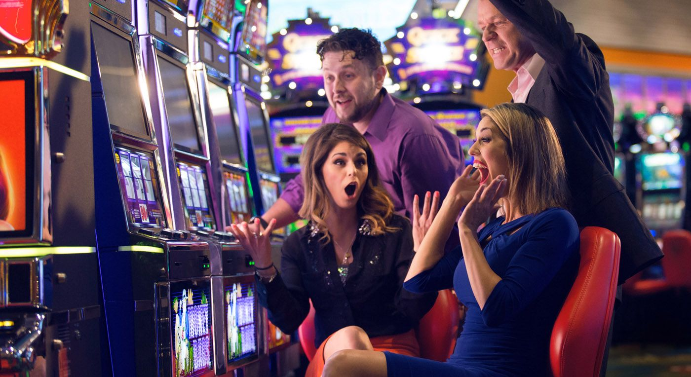 commercial photography couples at a casino