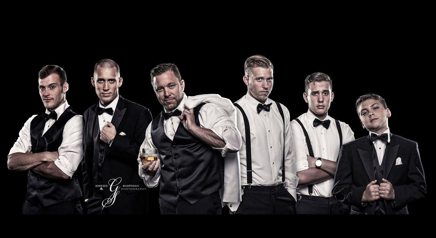 Advertising photo guys in tux's