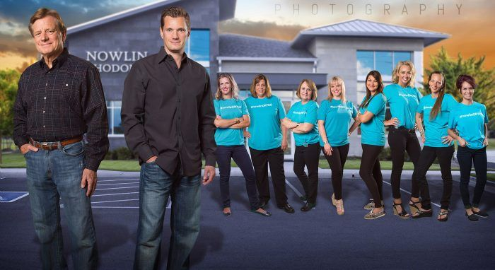 modular team composite orthodontists commercial photography