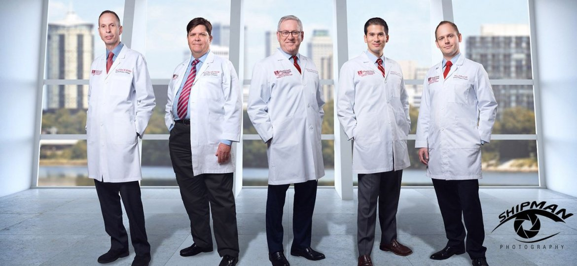 University of Oklahoma Tulsa surgeons commercial photography