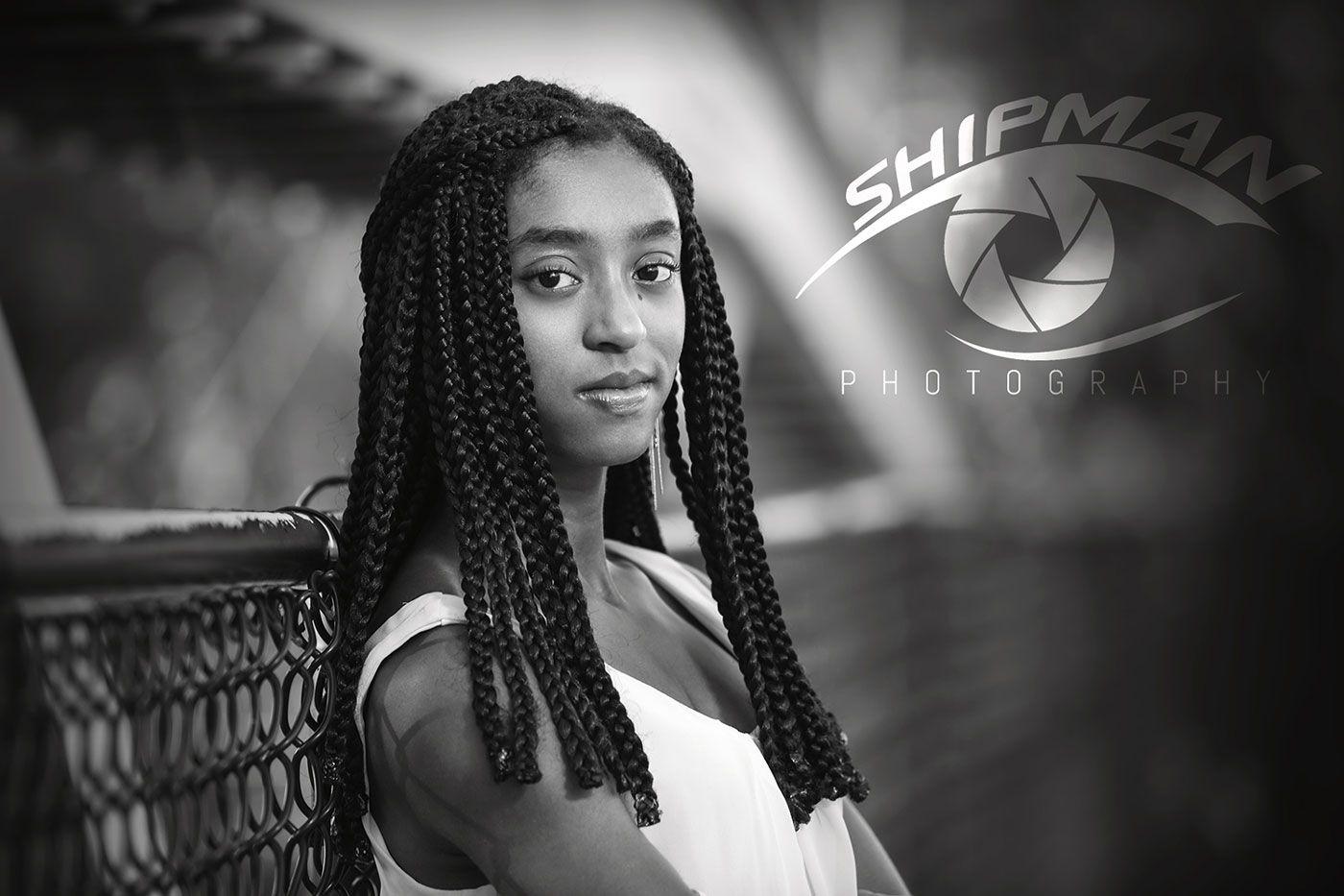 portrait of African American high school senior Tulsa