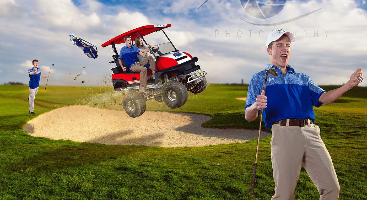 Bixby senior golf poster