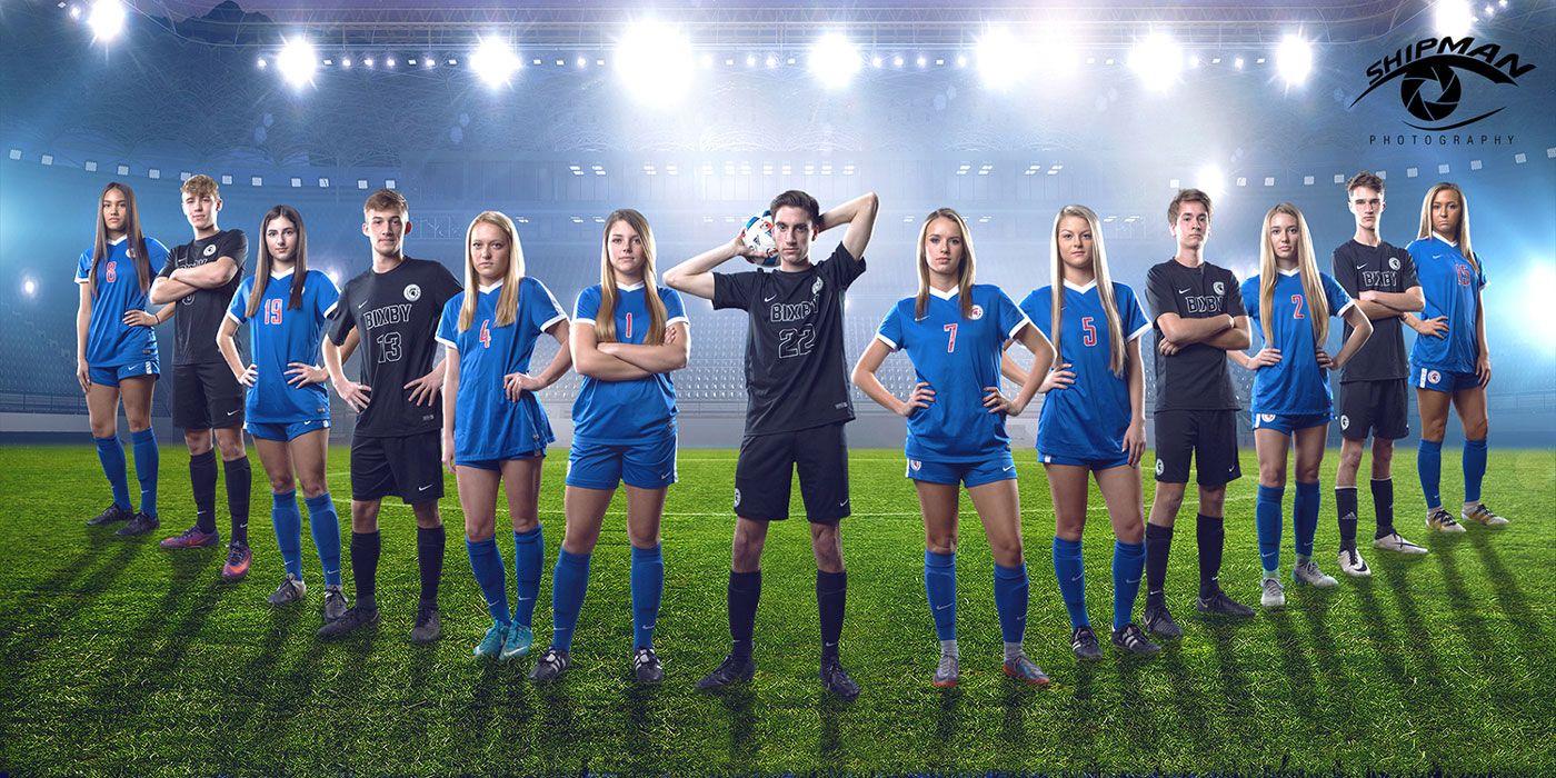 bixby soccer senior poster