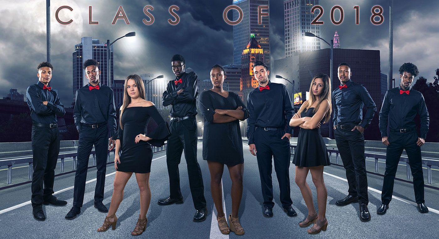 Tulsa Union high school basketball senior poster