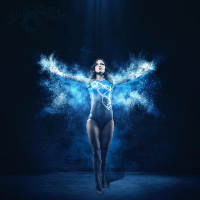 Tulsa Senior dance gymnastics athlete