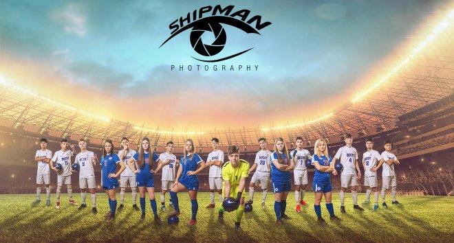 Bixby senior poster soccer players high school banner