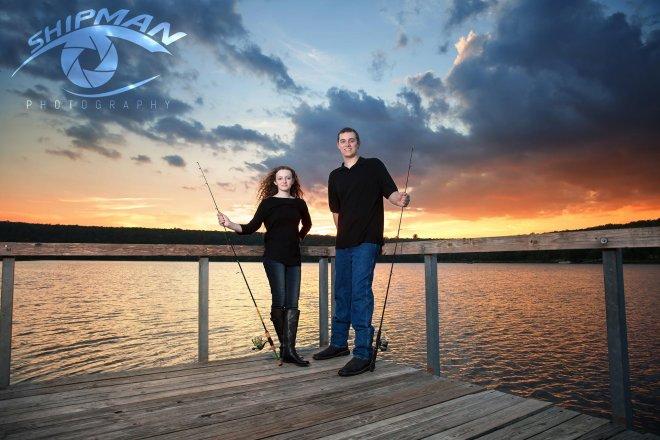 family fishing lake Tulsa bixby 77