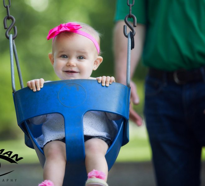 Baby family portrait Tulsa