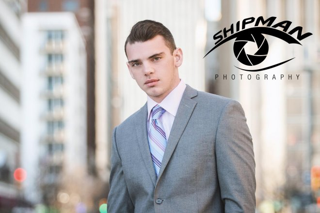 Bixby footballsenior portrait downtown tulsa