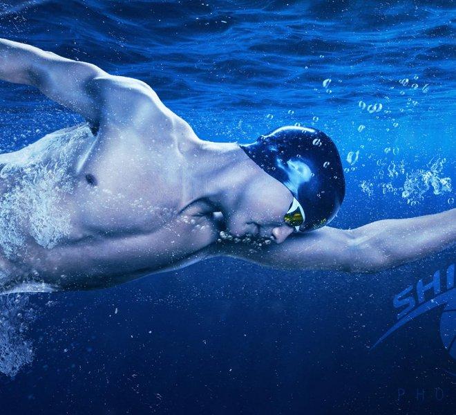 owasso high school swimmer senior portrait sports