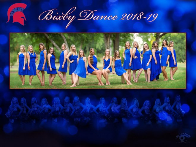 bixby dance team poster banner photo 2018