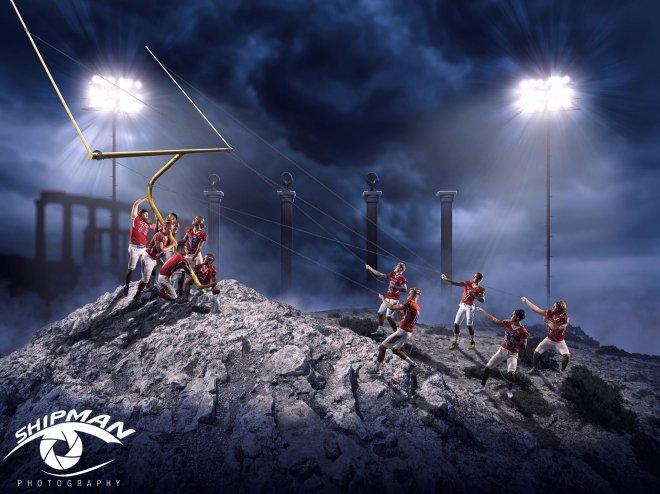Bixby spartans football senior poster