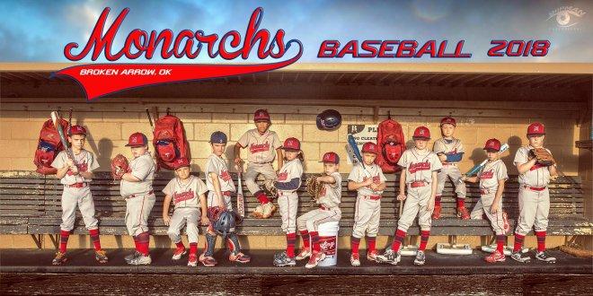 Broken arrow youth baseball banner poster team player photograph