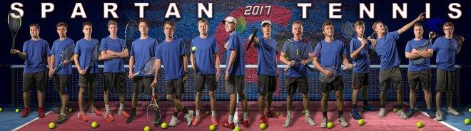 Bixby boys tennis team banner