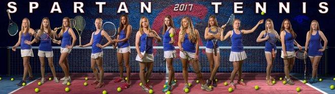 bixby tennis team banner