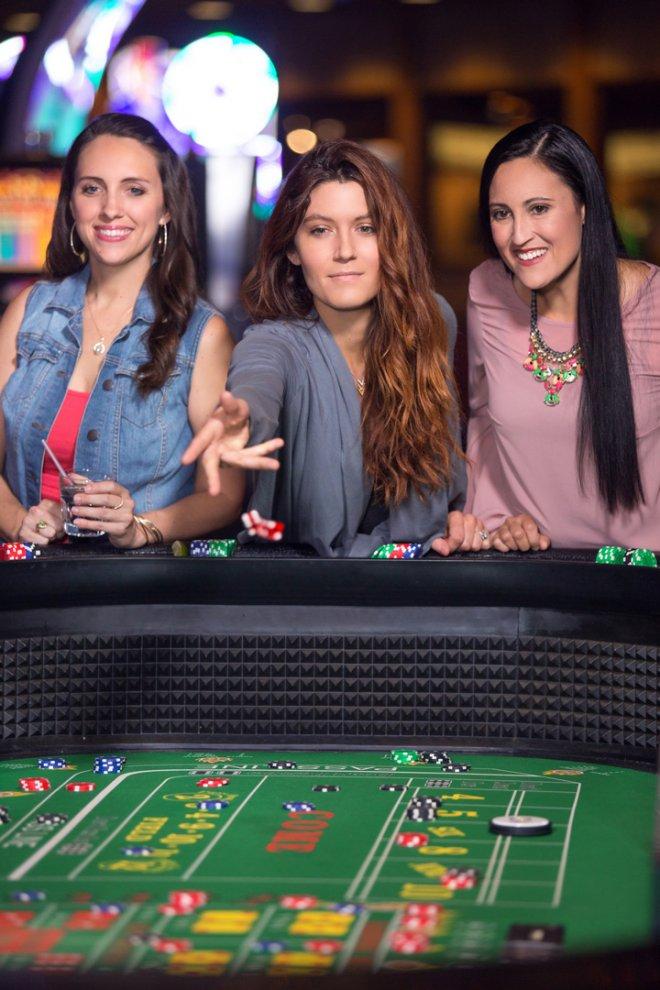 casino gaming commercial photography hard rock tulsa
