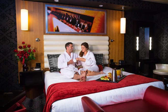 Hard Rock Hotel Room commercial advertising Photography_Tulsa