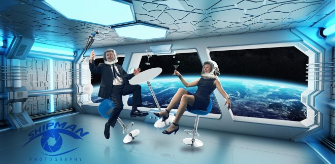 commercial Photography_Tulsa space themed composite