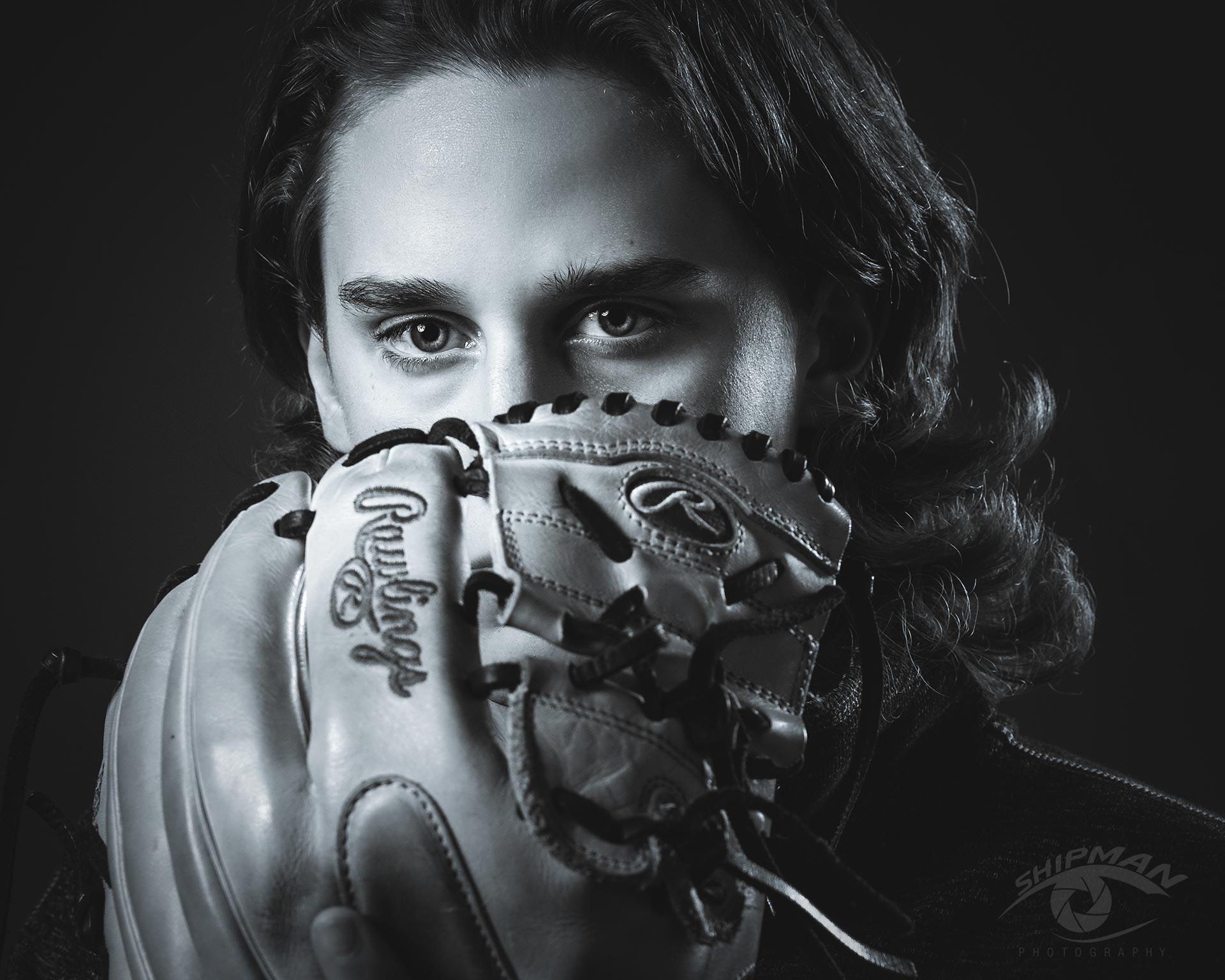 senior picture Tulsa boy baseball