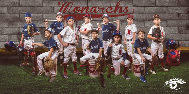 sports banner, youth league sports