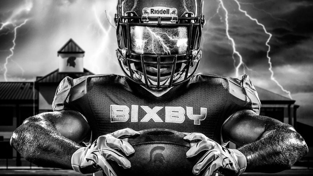 studio art bixby football Shipman