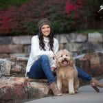 senior portrait pet park